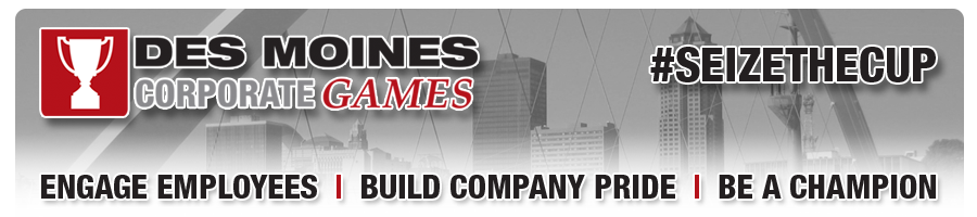 2018 Des Moines Corporate Games | Company Registration