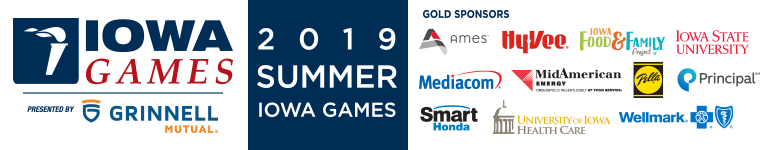 2019 Summer Iowa Games