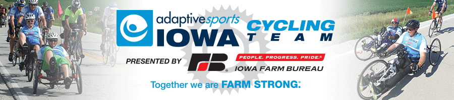 2019 Adaptive Sports Iowa Cycling Team Presented by Iowa Farm Bureau