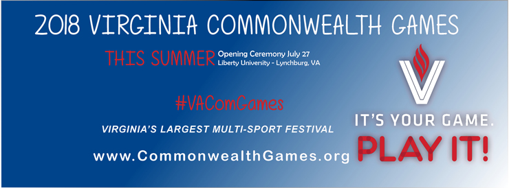 2018 Virginia Commonwealth Games at Liberty University