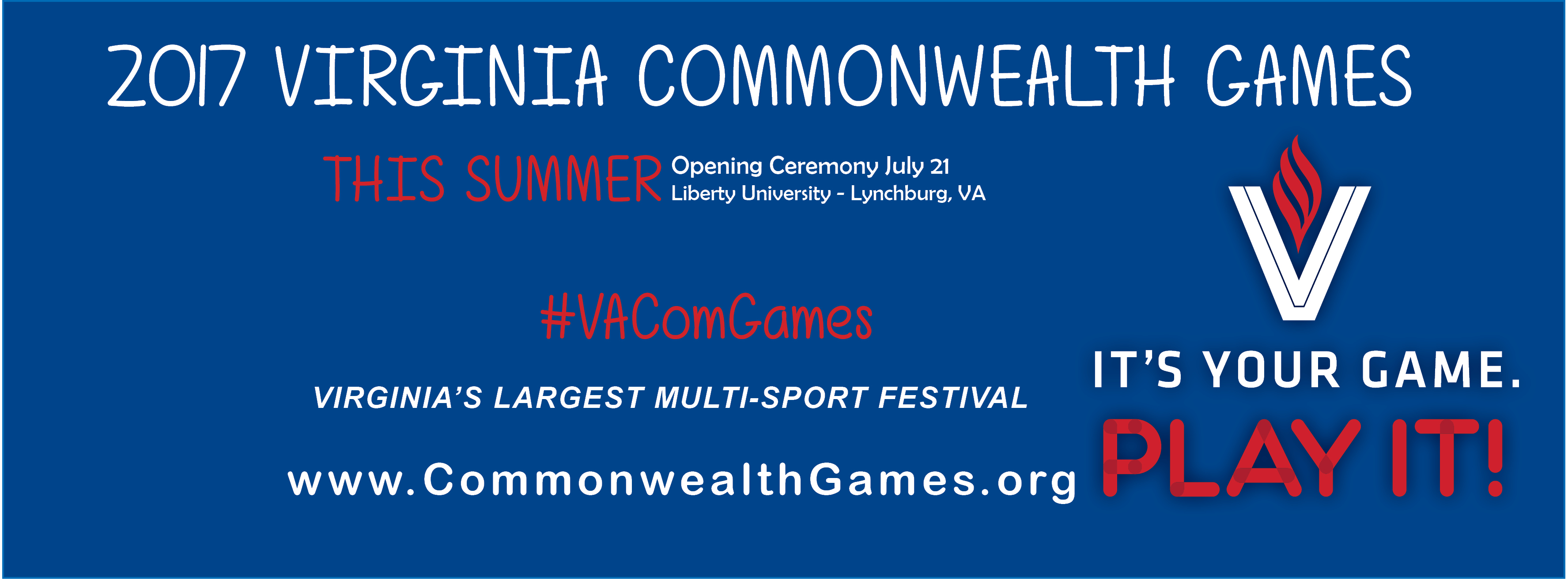 2017 Virginia Commonwealth Games at Liberty University